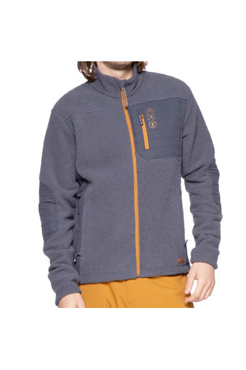 Protest Boyden Zip Jacket Grunge Grey