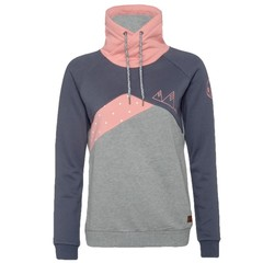 Protest Virginia Hoody Grunge Grey Pink