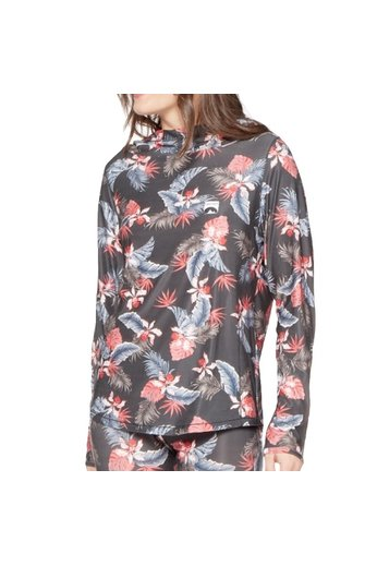 Protest Coil Thermo Hoody Floral