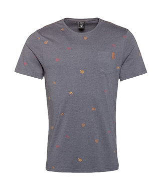 Protest Huntley T-Shirt Grunge Grey