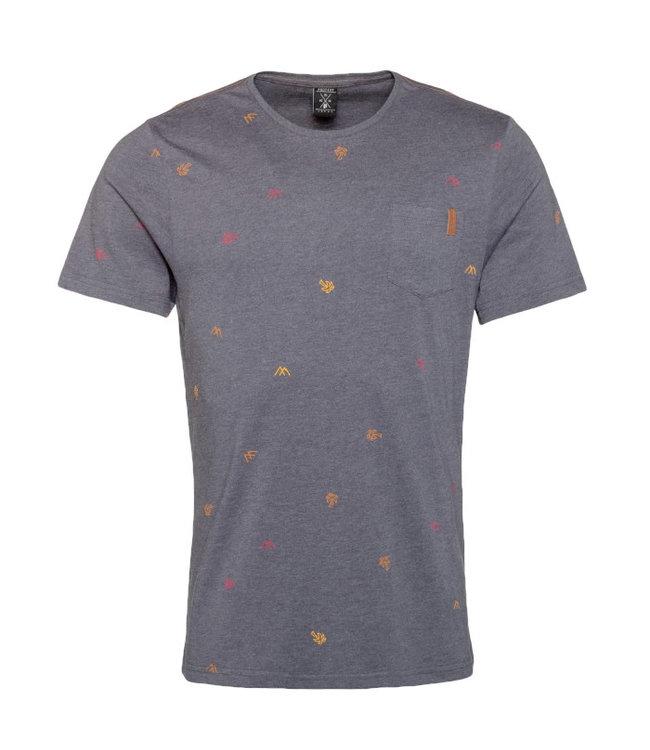 Protest Huntley T-Shirt Grunge Grey