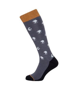 Protest Lound Snow Socks Grunge Grey