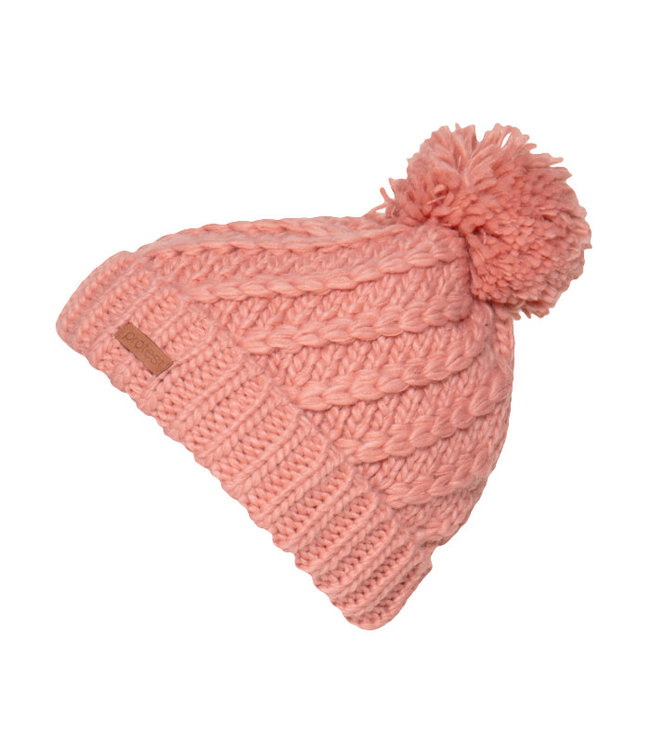 Protest Paisley Bobble Beanie Pink
