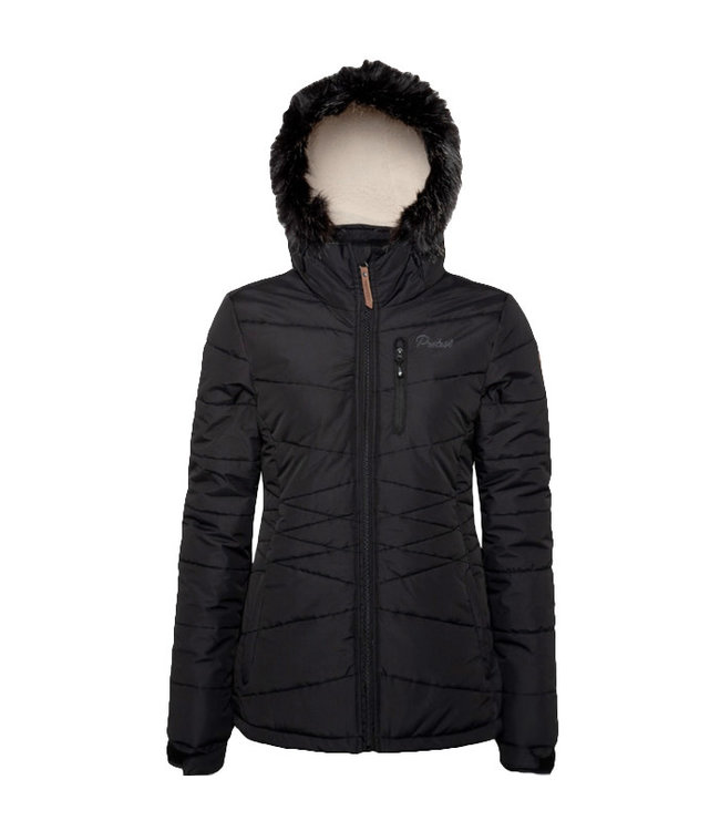 Protest Valdez Snow Jacket Black