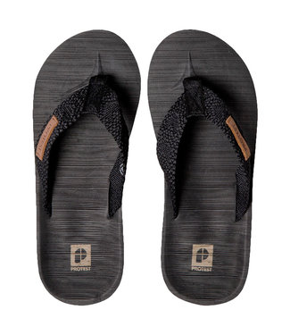 Protest Haiti Flip Flops True Black