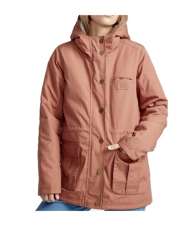 Billabong Facil Iti Coat Cacao
