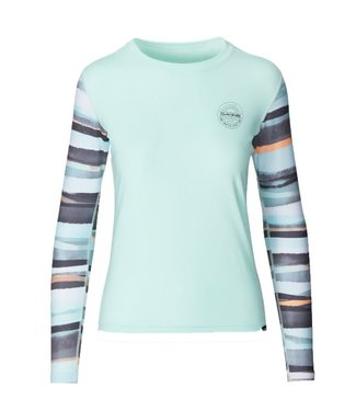 Dakine Flow Loose Fit L/S Rash Vest Pastel Current