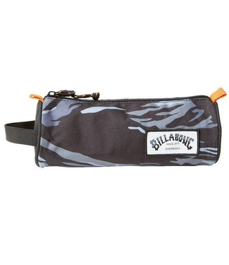 Billabong Barrel Pencil Case Black Camo