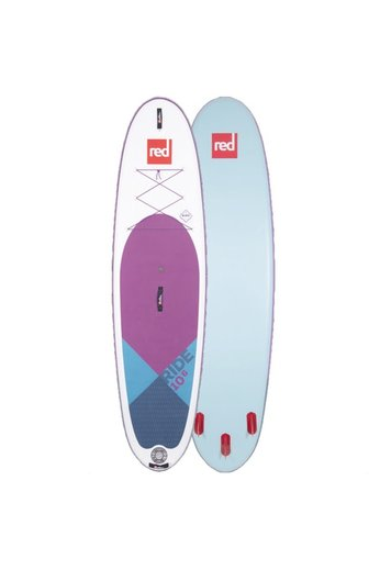 Red Paddle Co. Ride 10'6 x 32 SUP PACKAGE 2020 PURPLE
