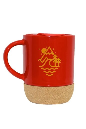 Old Guys Rule Stacked Travel Mug Cardinal Red