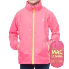 Mac in a Sac Kids Mac in a Sac Jacket Neon Pink