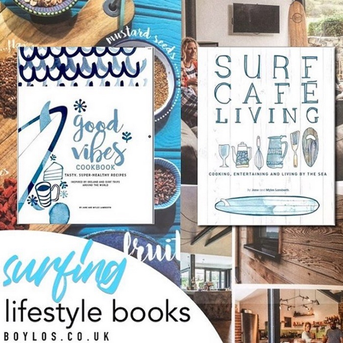 Product Review: Surf Cafe Living + Good Vibes Cookbook