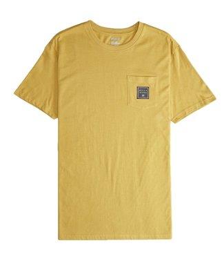 Billabong Stacked T-Shirt Mustard