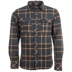 Old Guys Rule Twill Overshirt Navy Check