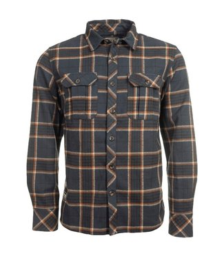 Old Guys Rule Old Guys Rule Twill Overshirt Navy Check