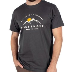 Passenger Ascender T-Shirt Ebony