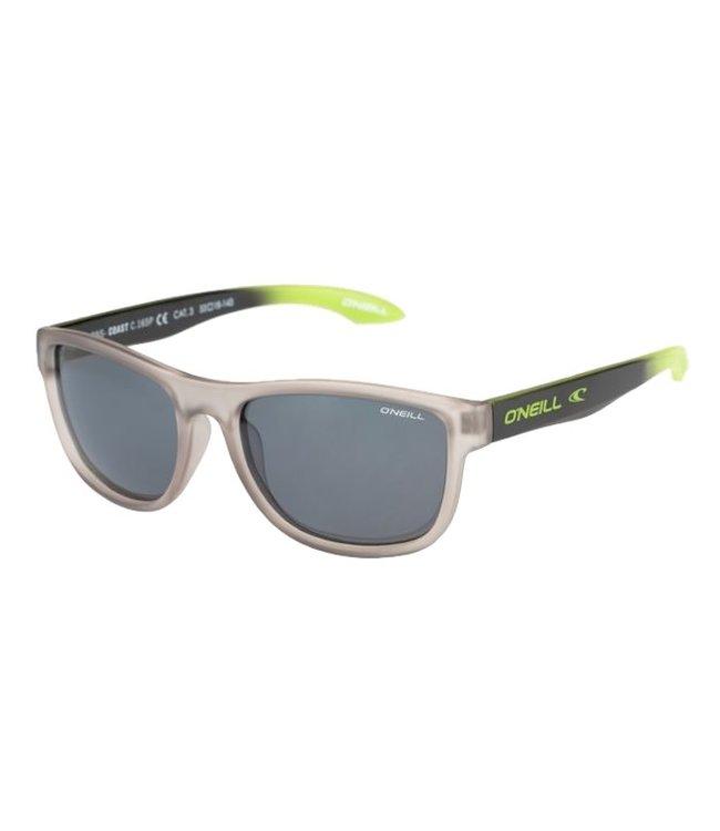 O'Neill Sunglasses Coast Sunglasses Grey Black Lime 165P