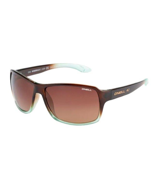 O'Neill Sunglasses Windmills Sunglasses Brown Aqua 103P
