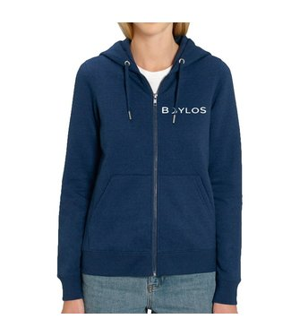 Boylo's X Co-ord Zip Hoody Midnight Heather Blue