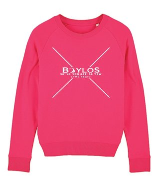 Boylo's Kids X Co-ord Jumper Hot Pink