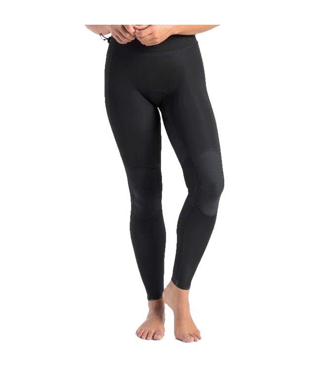 C-Skins Womens Solace 1.5mm Neoprene Leggings Black White