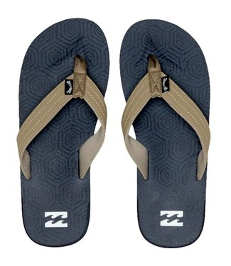 Billabong All Day Theme Flip Flops Blue