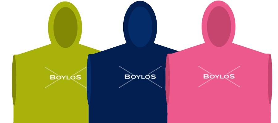 Boylos Hooded Towel robes