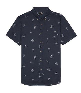 Billabong Sundays Mini S/S Shirt Navy