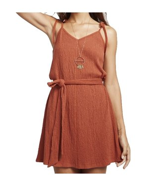 Billabong Going Steady Dress Henna
