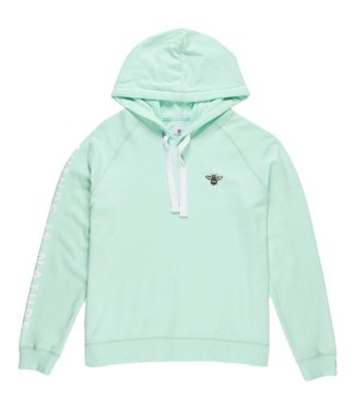 Element Branded Hoody Brook Green