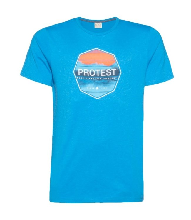 Protest Rag T-Shirt Medium Blue