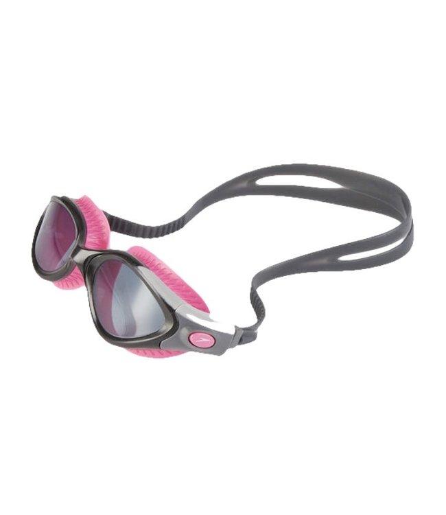 Speedo Futura Biofuse Adult Female Goggles - Pink Smoke