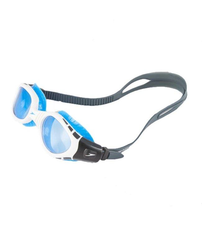 Speedo Futura Biofuse Adult Goggles - White Blue