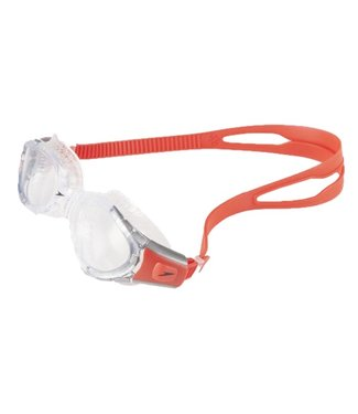 Speedo Futura Biofuse Adult Goggles - Red Clear