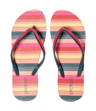 Protest Fig Flip Flops Grenadine