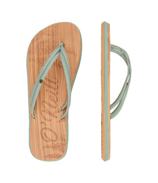 O'Neill Clothing Ditsy Flip Flops Lily Pad