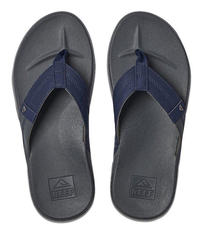 Reef Cushion Bounce Flip Flops Phantom Tan/Navy