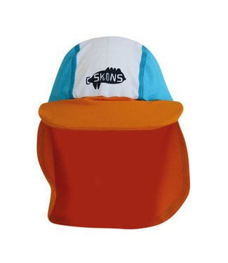 C-Skins Toddler Keppi UV Hat Turquoise Orange