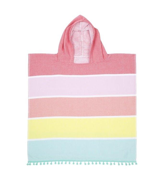 Sunnylife Kids Hooded Fouta Towel - Pinks