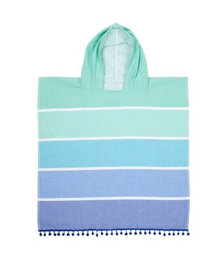 Sunnylife Kids Hooded Fouta Towel - Blues