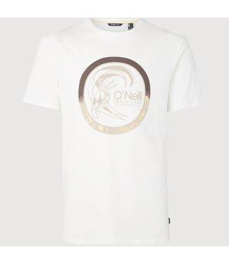 O'Neill Clothing Circle Surfer T-Shirt Powder White