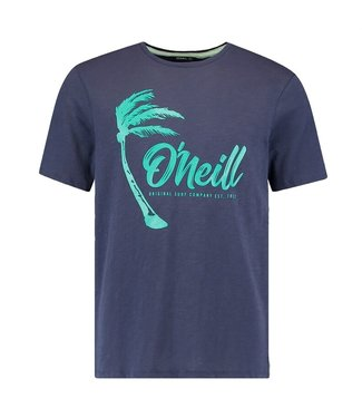 O'Neill Clothing Palm Graphic T-Shirt Scale