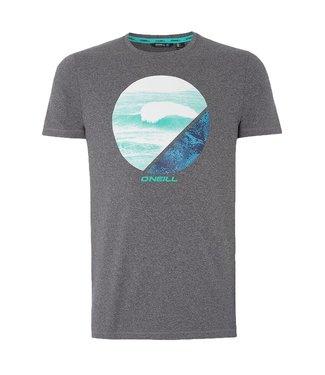 O'Neill Clothing Framed Hybrid T-Shirt Dark Grey