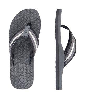 O'Neill Clothing Arch Nomad Flip Flops Asphalt