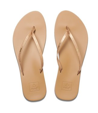 Reef Cushion Bounce Flip Flops Slim Copper