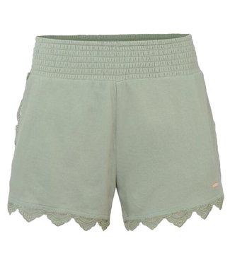 O'Neill Clothing Azalea Drapey Shorts Lily Pad