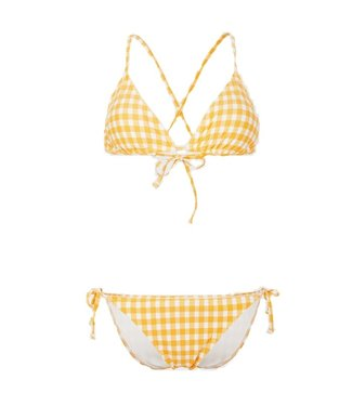O'Neill Clothing Capri Bondey Bikini Yellow AOP