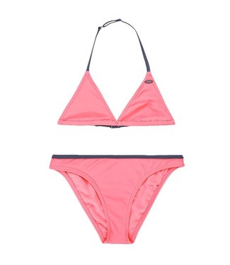 O'Neill Clothing Girls Essential Bikini Pink Lemon
