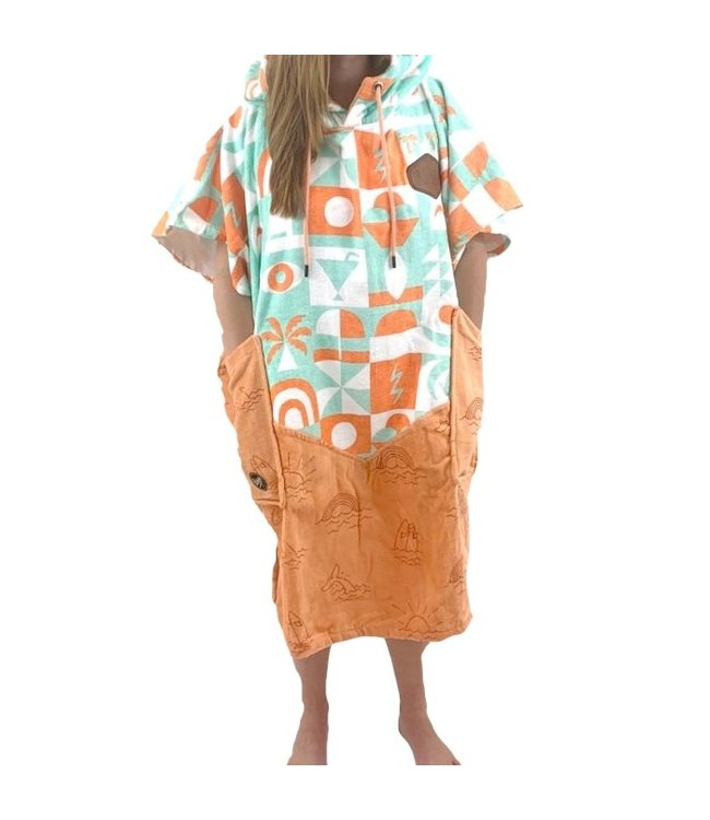 All-In V-Bumpy Changing Robe Poncho B-Girl Vagounettes