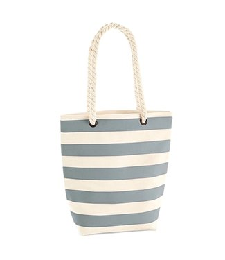 Boylo's WM Nautical Tote Bag - Natural/Grey